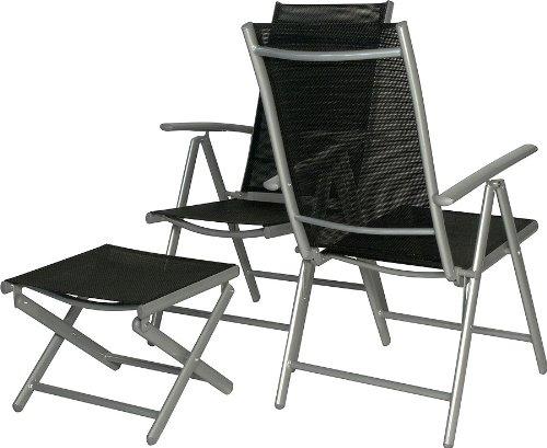 IB-Style - 2 Stück Hochlehner Gartenstühle