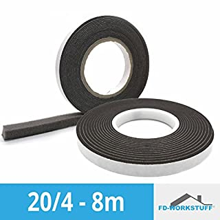 COMPRIBAND 20/4 Anthracite 8 m Roll Band Width 20 mm Expands from 4 to 20 mm Sealing Tape Compressing Tape