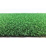Kunstrasen Rügen Grün / 7 mm 1.300 g/m² / Rasenteppich mit Drainage-Noppen / strapazierfähig, langlebig und pflegeleicht / indoor wie outdoor geeignet / für Garten, Terrasse, Balkon und Camping, Größe Auswählen:200 x 250