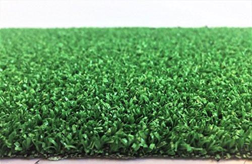 Kunstrasen Rügen / 7 mm 1.300 g/m² / Rasenteppich mit Drainage-Noppen / strapazierfähig, langlebig und pflegeleicht / indoor wie outdoor geeignet / für Garten, Terrasse, Balkon und Camping, Farbe:Grün, Größe:200 x 250 cm