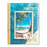 Album fotografico 300 foto 13x19 13x18 Portafoto Raccoglitore a fantasie - Blu