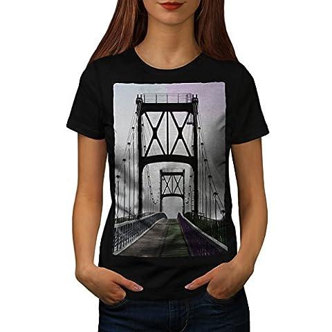 Pont Urbain Route Mode rivière Structure Femme S T-shirt | Wellcoda