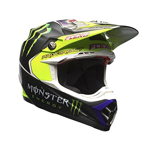 7084380 - Bell Moto-9 Flex Monster Pro Circuit 17 Motocross Helmet M Black Green
