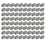 sourcing map 80 piezas 6mmx3mmx3mm Varilla de Llave Cuña de acero al Carbono