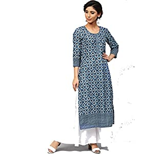 Amayra Women's Cotton Straight Kurti