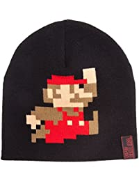 Nintendo Mütze Super Mario, schwarz