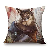 beautifulseason 16 X 16 Inches/40 By 40 Cm Dog Throw Pillow Case,double Sides Is Fit For Relatives,car,wife,teens Girls,car Seat,girls