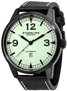 Stührling 129XL335566 Reloj de Caballero movimiento automático con correa de piel de Diamant Feuer