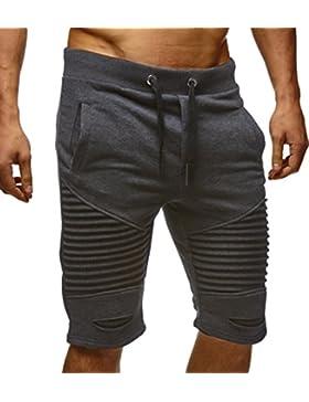 LEIF NELSON Herren kurze Hose Shorts Sweatshorts LN9025