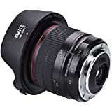 Acouto MK 8mm F/3.5 Fixed Focus Manual Focus Ultra Wide Angle Lens (Suitable For Sony, Canon Cameras)(2)