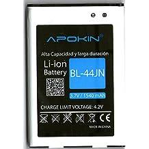 Batería Para LG P970 Optimus Black, C660 Optimus Pro, E730 Optimus Sol, E400 Optimus L3, E610 Optimus L5 de 1540 mAh