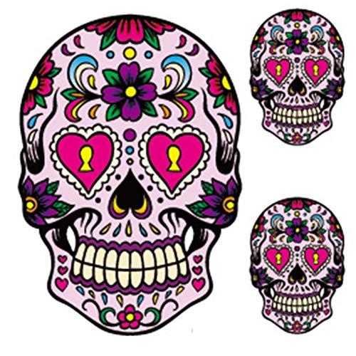 EROSPA® Tattoo-Bogen temporär - Mexican Skull / Totenkopf / Schädel