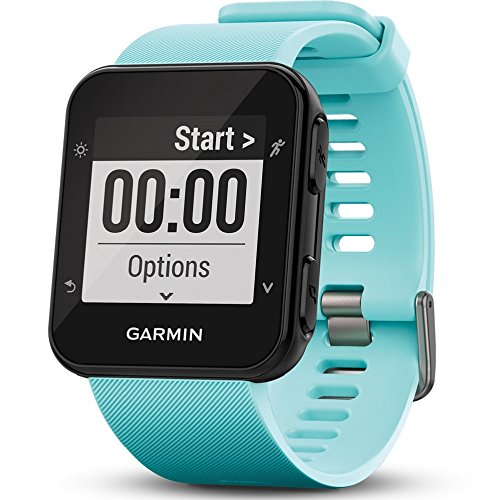 Garmin Forerunner 35 GPS Running Watch with Wrist-based Heart Rate – Frost Blue
