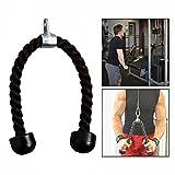 OFKPO Corde Triceps, Corde à Tirer pour le fitness, Accessoire de Triceps pour Homme
