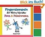 Fingerstempeln für kleine Künstler-Se...