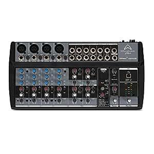 1202FX/USB mixer audio a 12 canali con 56 effetti per live, studio, karaoke, ecc..