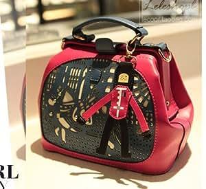 sac original a Main Bandouliere Petit Prince Rouge Noir