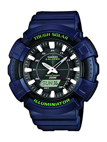 Digital Quarz mit Resin Armbanduhr AD S800WH 2AVEF ()