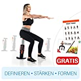 Squat Magic Kniebeugen Trainer sexy Po former Beintrainer Fitness Körper straffen definieren Training - Das Original von Mediashop