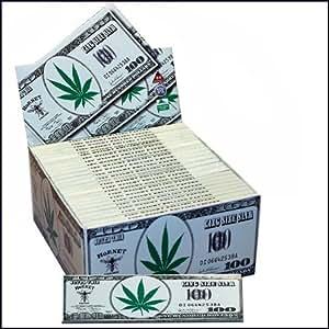 Blättchen Dollar Motiv Hornet King Size Karton