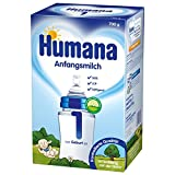 Humana Anfangsmilch 1 mit Lcp und Gos, 1er Pack (1 x 700 g)