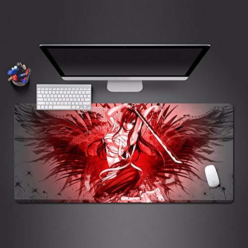 Cartoon mauspad spieler büro waschbar mauspad schönheit mauspad spielmaschine spieltisch matte halloween geschenk 800 * 300 * 3mm