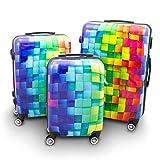 Die besten Koffer Sets - BERWIN® Design Koffer Reisekoffer Trolley Hartschalenkoffer Polycarbonat mit Bewertungen