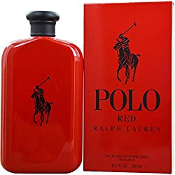 Ralph Lauren Polo Red Lauren EDT 200 ml Vapo, 1er Pack (1 x 200 ml)