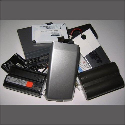 Akku für Palm Treo 600 Serie, 3,7 V, 2000 mAh, 100 %passend, gut passende Li-Ion, Lithium-Ionen Technologie, Silber, PDA, Palm Treo-serie