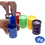 Barrel O Slime Toys, Multi Color (Pack Of 5)kids Offer + Free 1 Handling Water Mobile Look