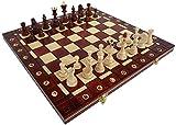 ChessEbook Schachspiel SENATOR 40 x 40 cm Holz