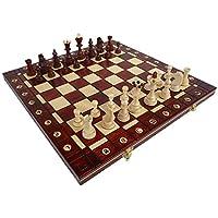 ChessEbook-Schachspiel-SENATOR-40-x-40-cm-Holz