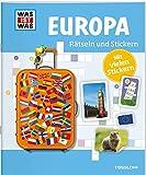 Rätseln und Stickern: Europa