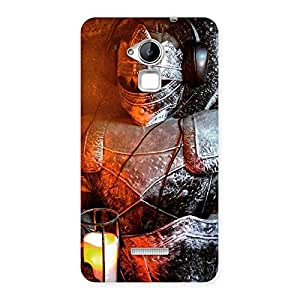 Luxirious Warrior Knight Print Back Case Cover for Coolpad Note 3