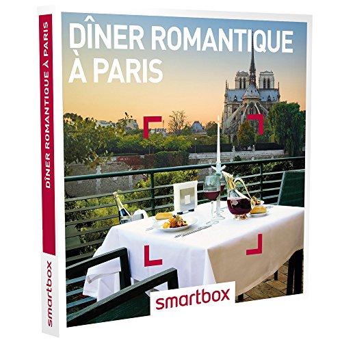 SMARTBOX - Coffret Cadeau Couple - Idée cadeau original : Dîner romantique à deux à Paris pour...