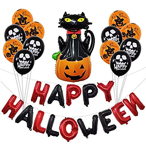 ration Statuen Halloween Ballon,Kombiballon Halloween Celebration Party Dekoration (Zombie), Kürbis B ()