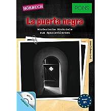 """PONS Hörbuch """"La puerta negra"""": Mörderische Hörkrimis zum Spanischlernen. Mit MP3-CD. (PONS Kurzkrimis)"""