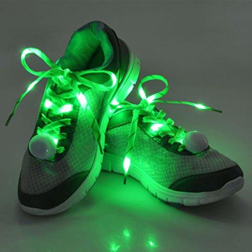 Pet Leso® 1 Paar LED Nylon Leuchten Spitzeen Blinkende Spitzee (Halloween Box 80's Kostüme)