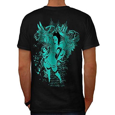 Sale Chaud Sensuel Érotique Amour Cœur Homme S T-shirt le dos | Wellcoda