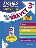 Objectif Brevet 3e - Fiches détachables Tout-en-Un Nouveau Brevet...