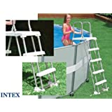 Intex - Echelle de piscine Sécurité INTEX 132 cm Grise