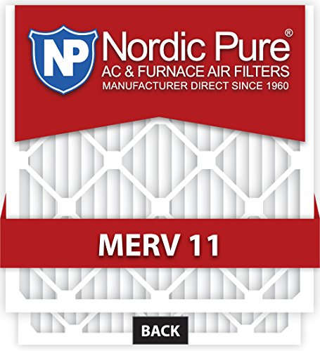 Nordic Pure 16x 20x 4m11–1aire acondicionado horno filtro, caja de 1