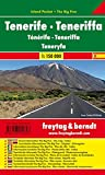 Tenerife, mapa de carreteras de bolsillo plastificado Island Pocket. Escala 1:150.000. Freytag &...