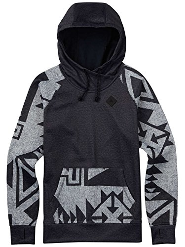 Burton Damen Heron Pullover Hoodie true black heather