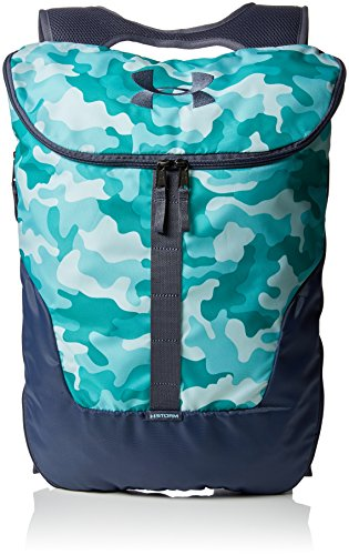 Under Armour Unisex Ua Expandable Sackpack Rucksack Blue Infinity