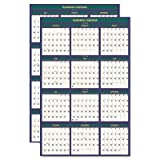 HOD391 - House Of Doolittle 4 Seasons Reversible/Erasable Business/Academic Calendar by House of