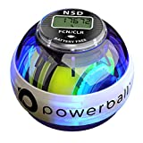 NSD Powerball 280Hz Autostart Fusion Pro LED Palla con Giroscopio per Esercizi