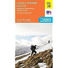 Loch Lomond South 1 : 25 000 (OS Explorer Map)