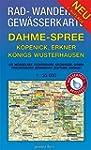 Rad-, Wander- und Gewässerkarte Dahme...