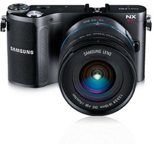 Samsung NX200 Systemkamera (20,3 Megapixel, 7,6 cm (3 Zoll) Display, i-Funktion) inkl. 18-55mm NX Objektiv - 2